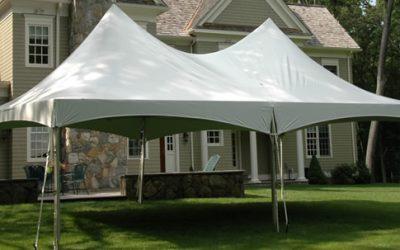 10 x 20 Hi Peak White Tent