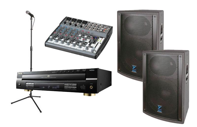 2 Speaker Stereo System