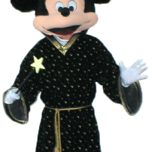 Mickey as Wizzard