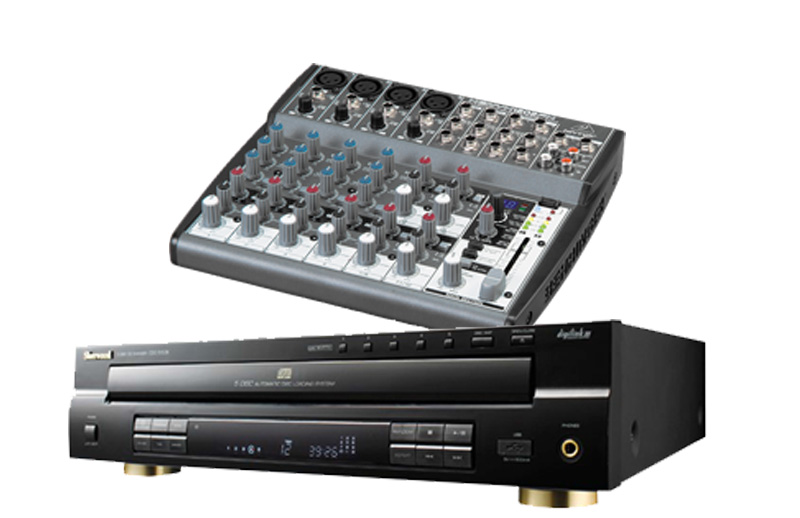 Mixer (w/cd player)