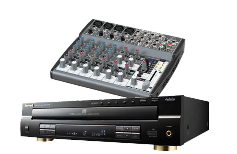 Mixer (w/cd player)