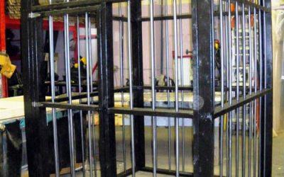 Mock-jail