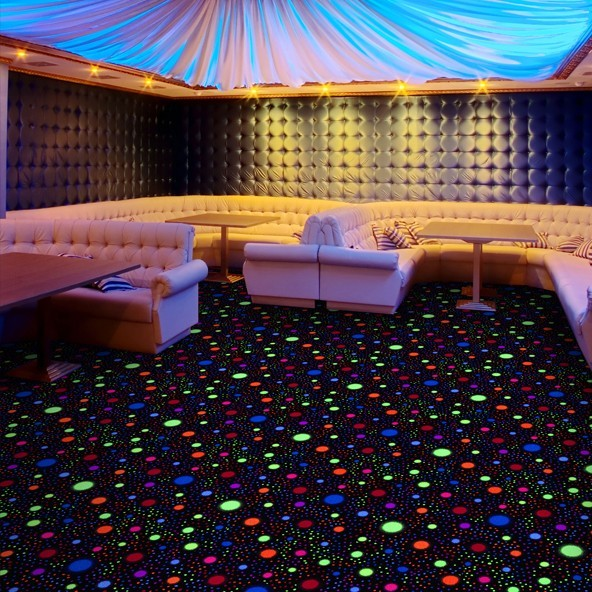 Glow The Event Store Black Light Carpet Tile Glow The