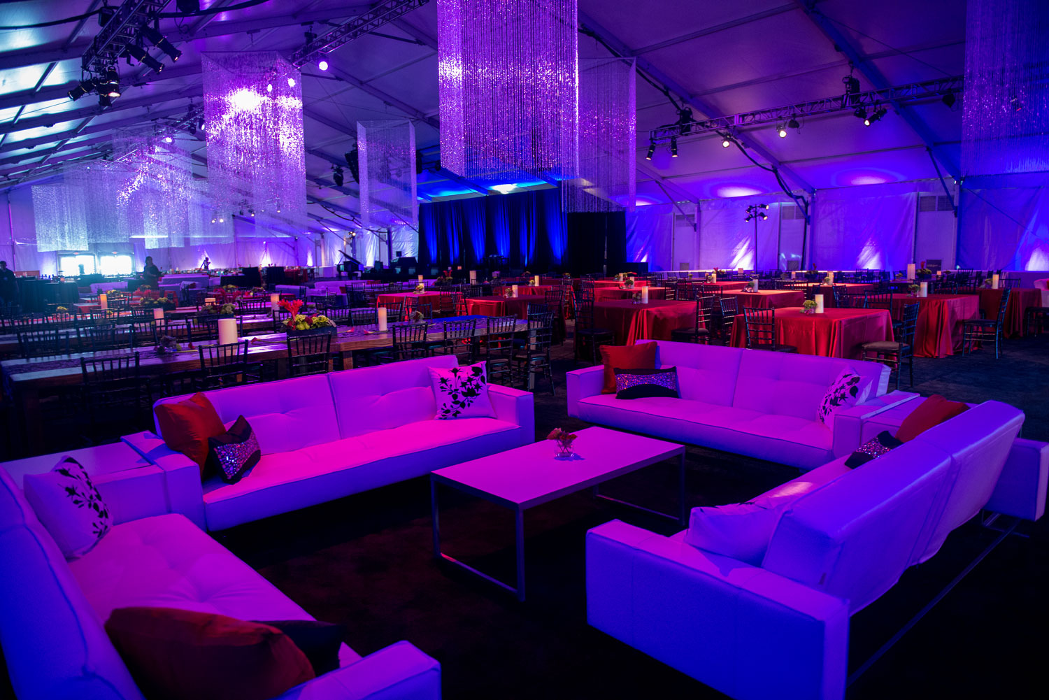 Glow the event store black light glow the event store for Lounge decor ideas pictures
