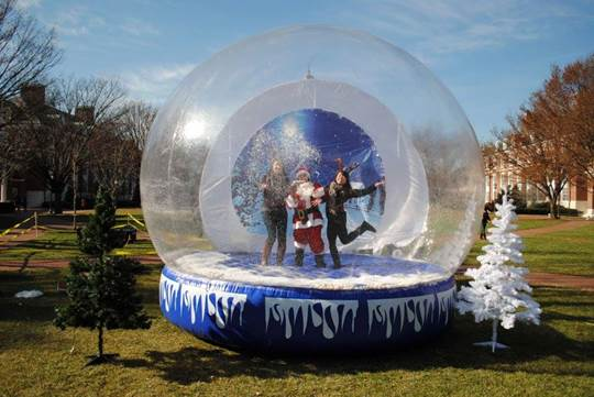Glow The Event Store Photo Op Snow Globe Inflatable