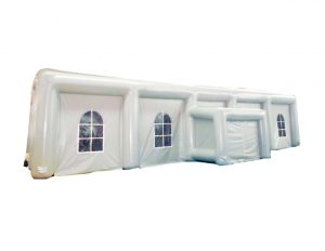 white–inflatable-tent