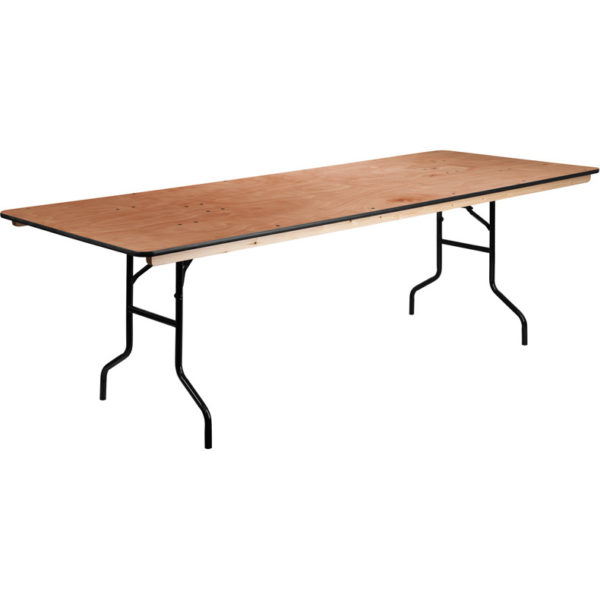 Banquet Table – 8′ Wood