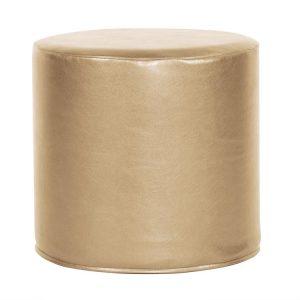 Cylinder Ottoman_Shimmer Gold