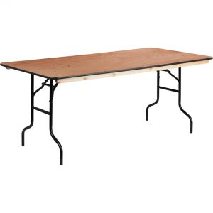 Table – 6′ Wood