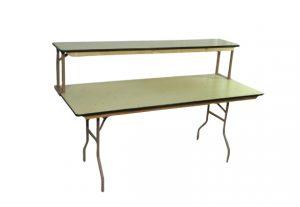 Table – 6′ Wooden – Bar Base