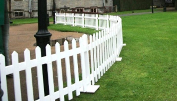 Glow The Event Store 8 Ft And 10 Ft White Picket Fence