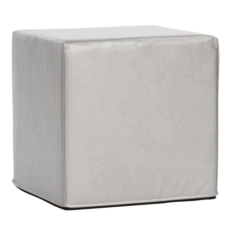 Cube-Ottoman_Shimmer-Mercury $30.00