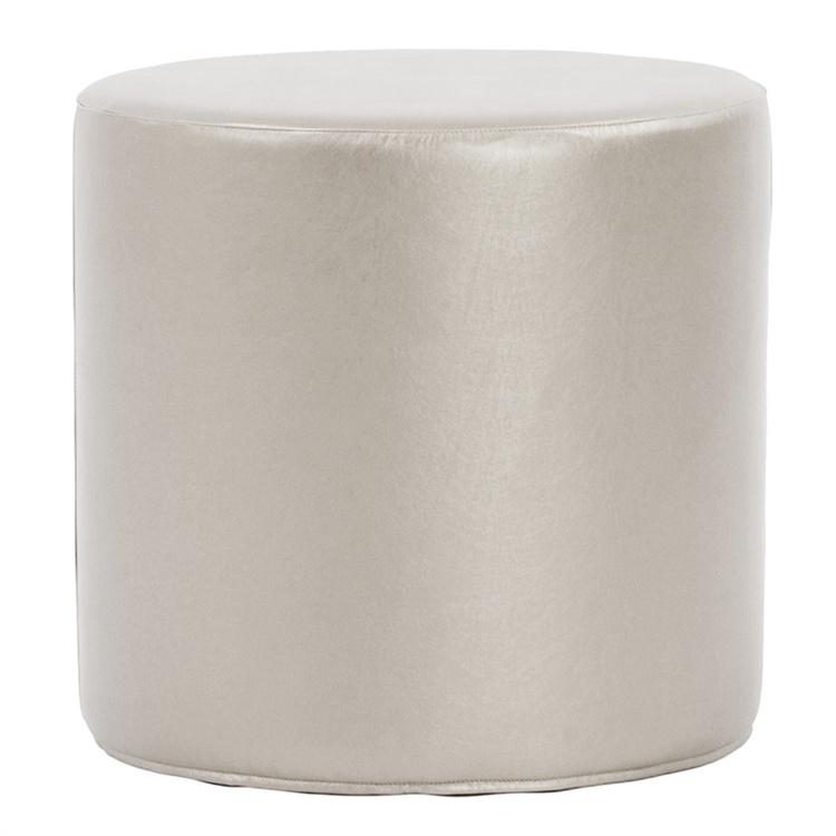 Cylinder-Ottoman_Shimmer-Mercury $30.00