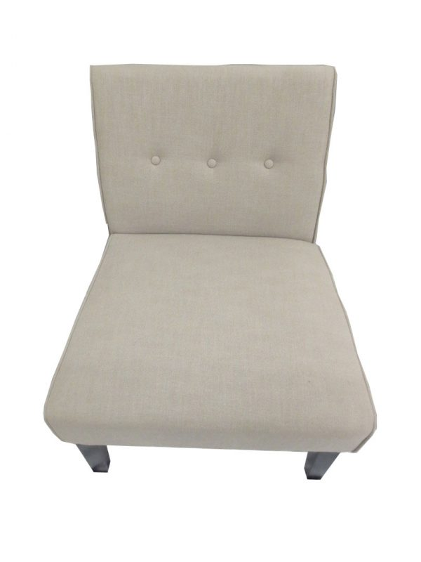 Occasional Chair Taupe – $50.00