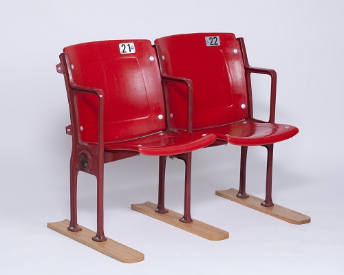 Stadium Seats Red Single $50.00 Double $100.00