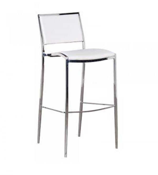 Stool Chrome & Leather $20.00