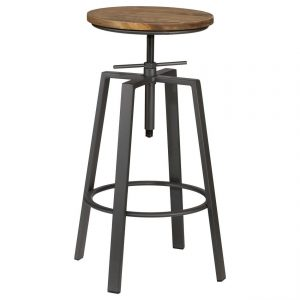 Swivel Stool – Rustic – 2