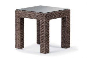 Wicker Side Table $25.00