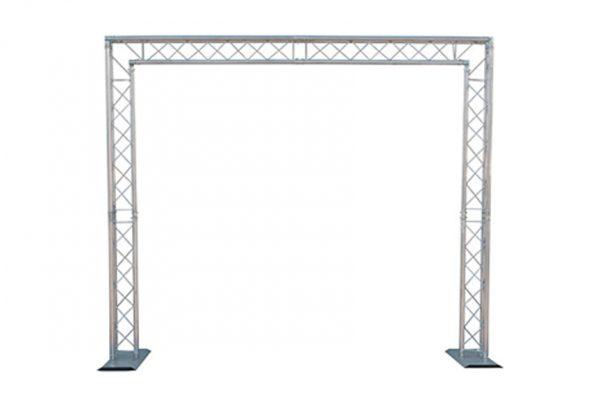 Metal Truss Arch