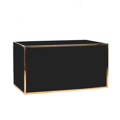 Bar_Gold Framed _Black Panel