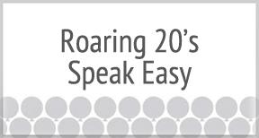 Roaring 20's-Speakeasy