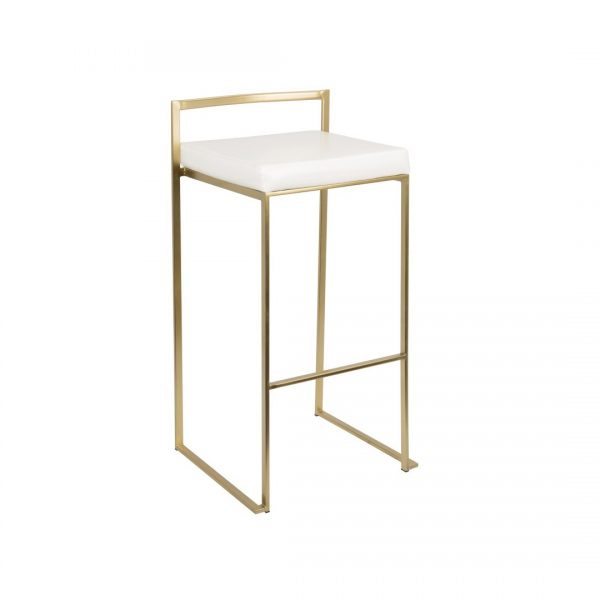 2-contemporary-bar-stools-in-gold-and-white-fuji