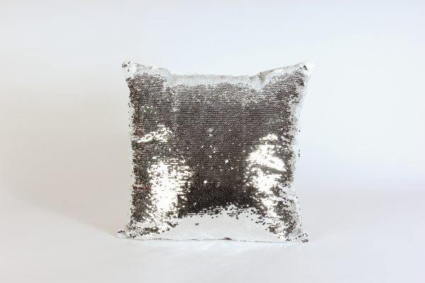 INV-Pillow Cover-Silver mermaid Sequence