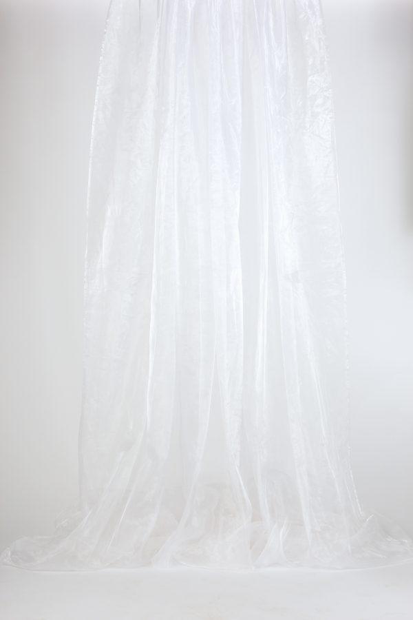 INV816-Drape Sheer- white ice