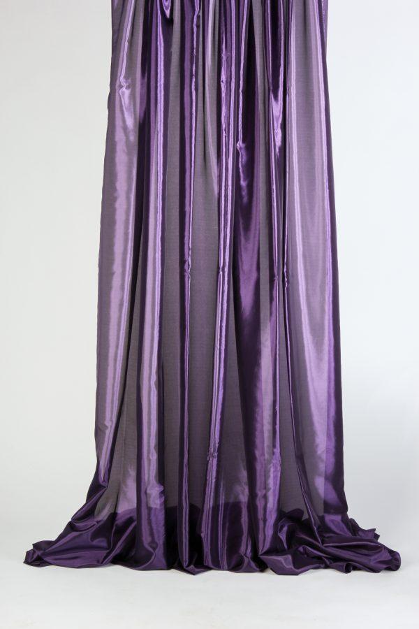 INV967-Drape Taffeta- Dark Purple