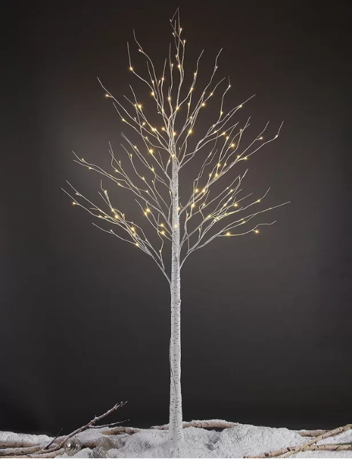 LED Birch Tree 8′