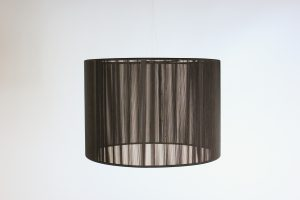 INV 489-String lampshade -black