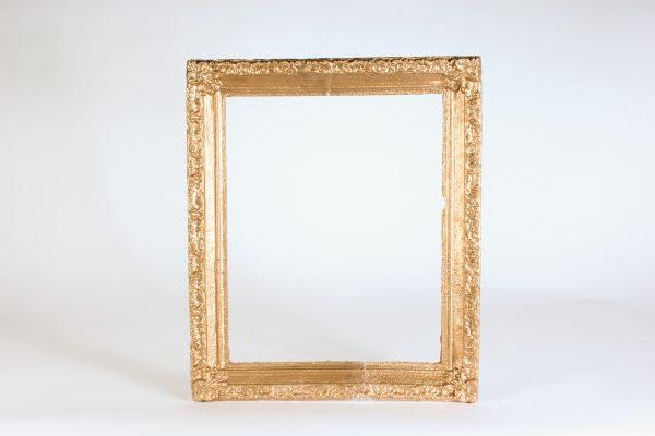 INV108-frame rectangle gold