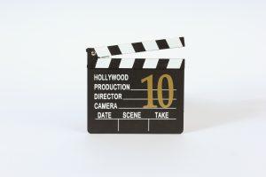 INV1403-TableNumber-Directors Clap board