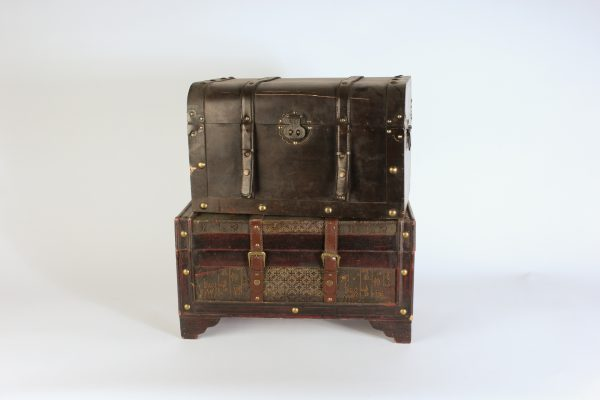 INV512-Wooden vintage crates