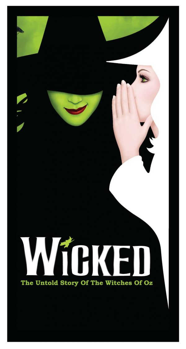 Wicked Poster 4'x 8′ Decal on wood $250