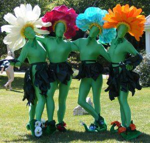 flower-cotstume