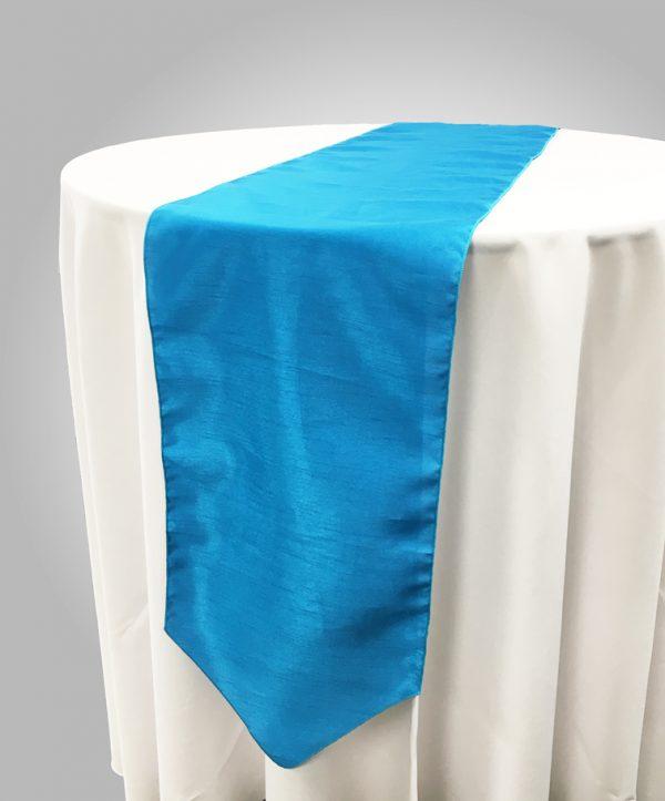 Turquoise-Dupioni