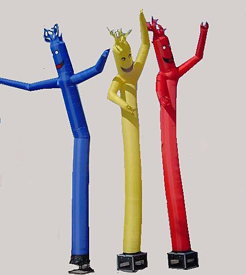 Air Puppets red-blue-green $125.00
