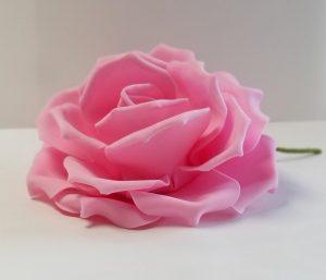 10 in Pink Foam Flowers