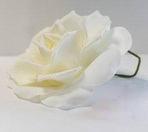 10-in-White-Foam-Flower