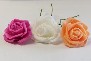 2.5 in Foam Flowers