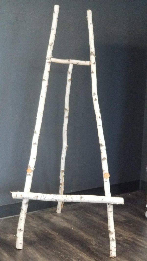 Birch Pole Easel