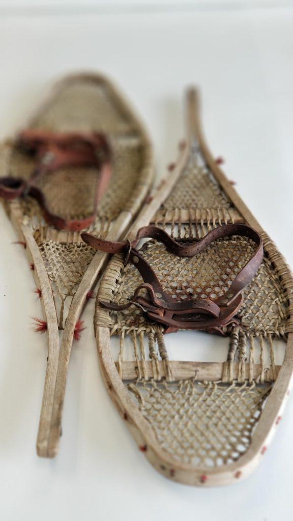 Vintage Rawhide Snowshoes