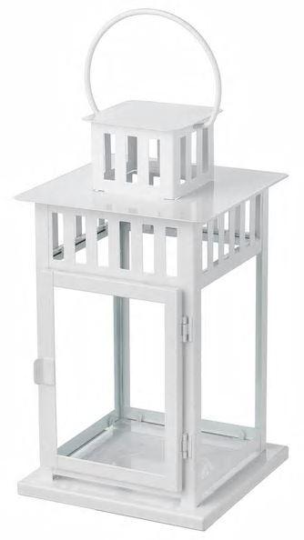Lantern – White Metal -2