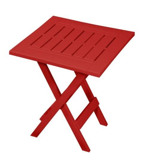 Adirondack Side Table – Red