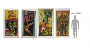 Assorted-Large-Circus-Posters