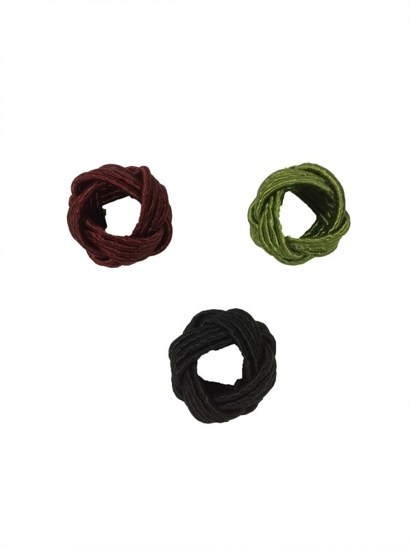 Napkin-Ring—Sailor's-Knot—Assorted-Colors