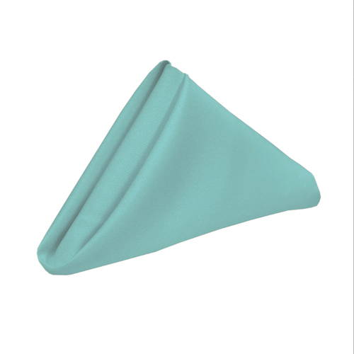 Napkin—Satin—Tiffany-Blue