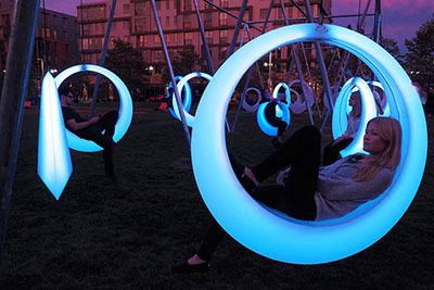 led-swing-sets