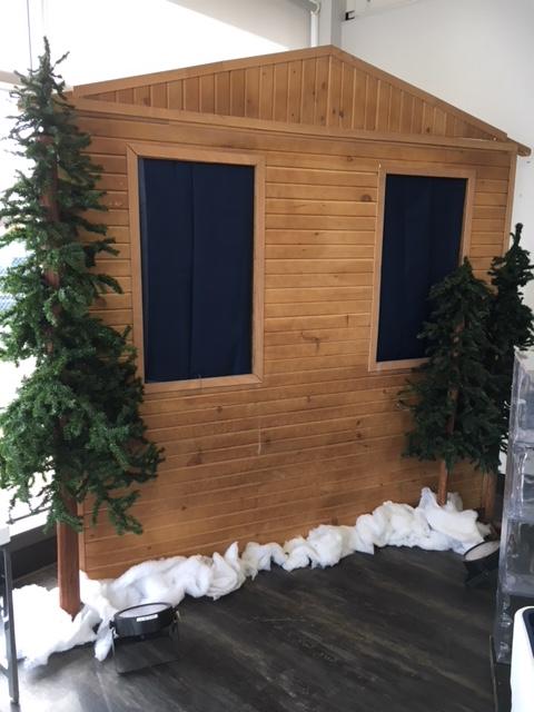 Cabin Facade Without Door